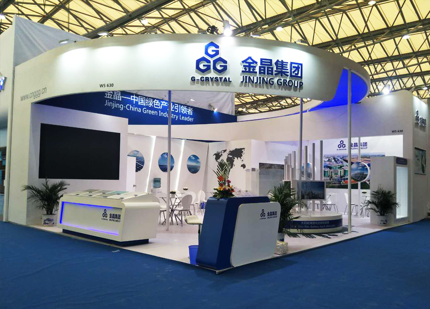 SNEC Booth Design and construction For Jinjing Group