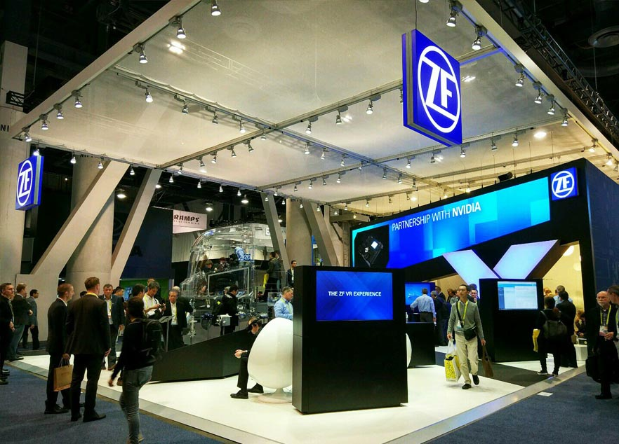CES China exhibition stand construction ZF