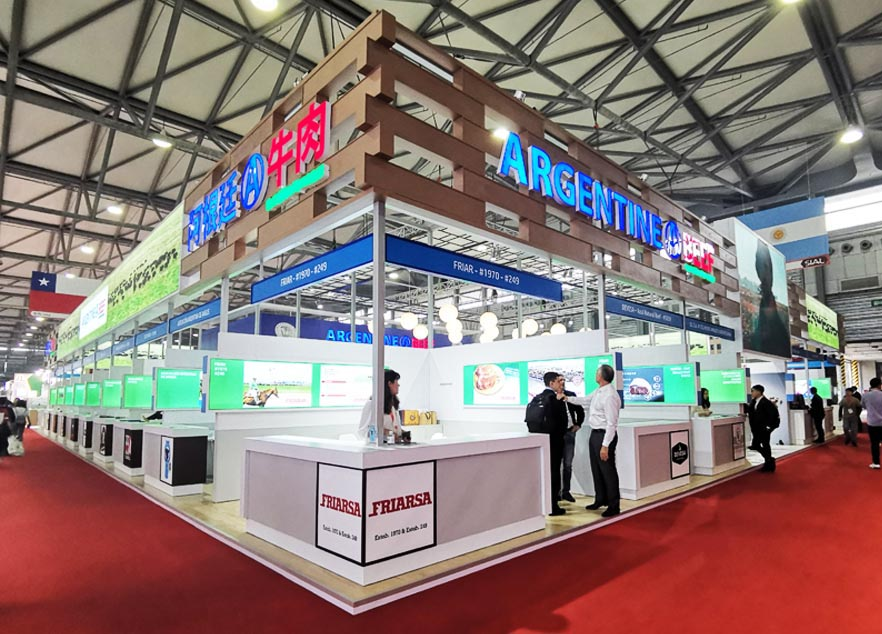 SIAL China Booth Design And Construction For Argenyine BEEF