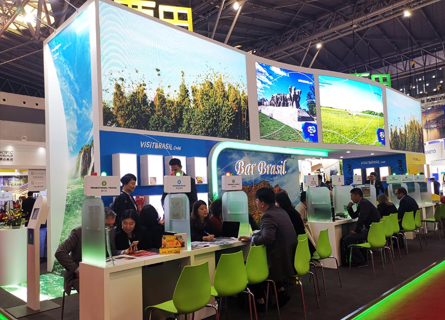 ITB China stand contractor for Brazil